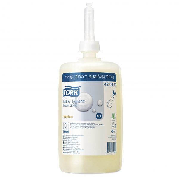 Tork Hand Washing Liquid Soap 1LTR X 6 420810