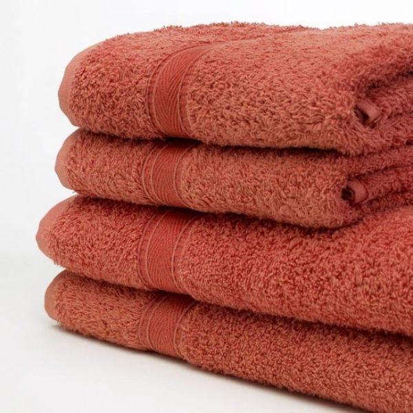 Face Cloth TERRACOTTA 30x30 480GSM