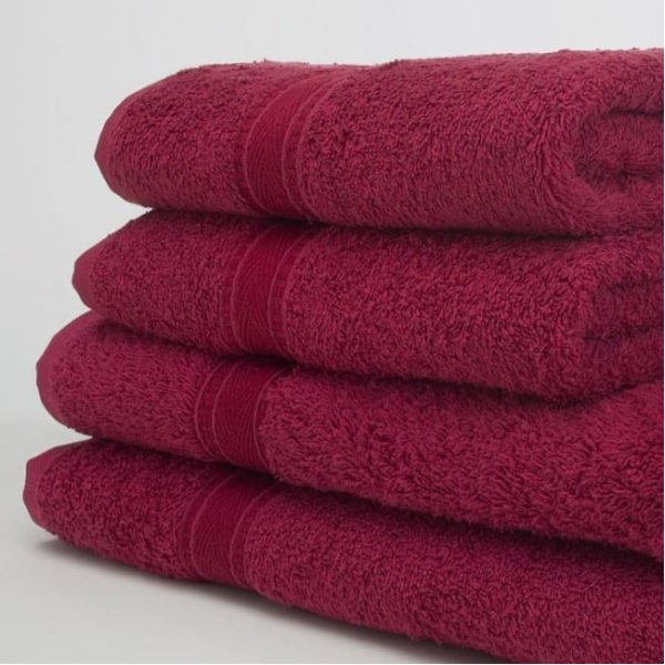 Hand Towel BURGUNDY 50x90 480GSM