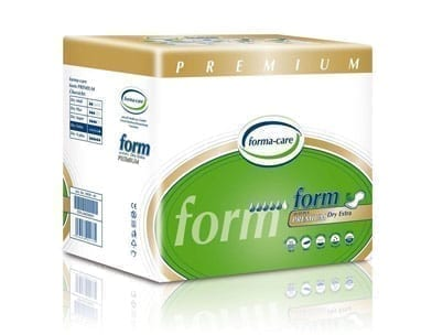 Forma-care Pad Premium Dry Extra GREEN Large X 20