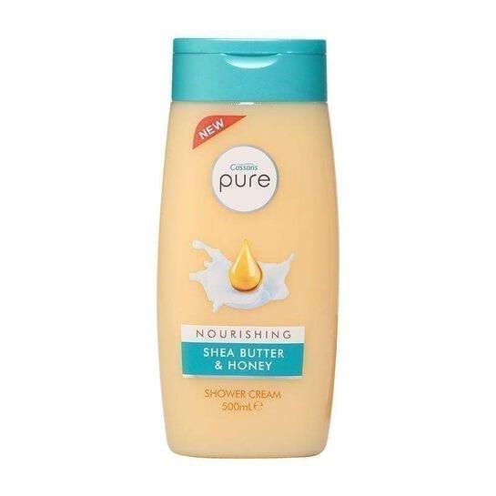 Cussons Pure Shower Gel Nourish Shea Butter & Honey 500ML X 6